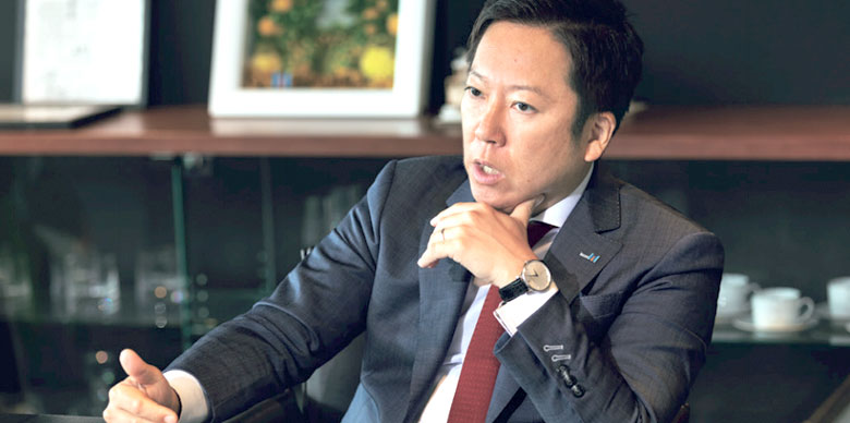 President and CEO Yasushi Fujita